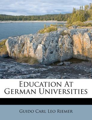 Education at German Universities