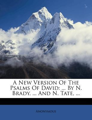 A New Version of the Psalms of David