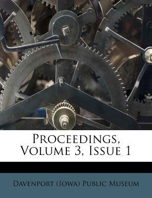 Proceedings, Volume 3, Issue 1