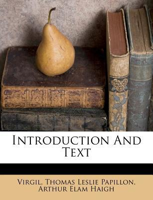 Introduction and Text