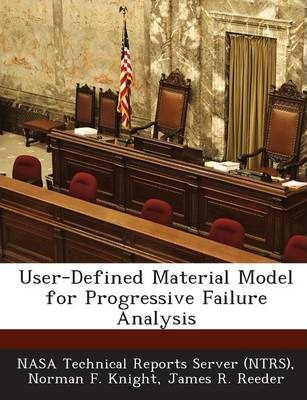 User-Defined Material Model for Progressive Failure Analysis