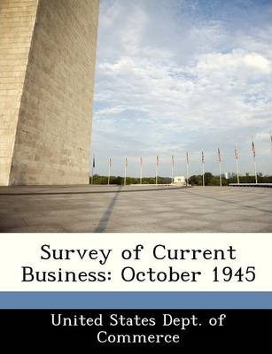 Survey of Current Business  October 1945