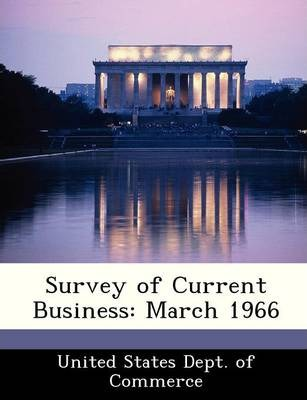 Survey of Current Business  March 1966