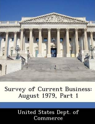 Survey of Current Business  August 1979, Part 1