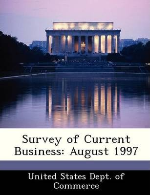 Survey of Current Business : August 1997