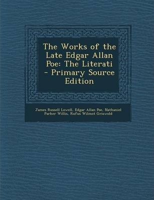 The Works of the Late Edgar Allan Poe