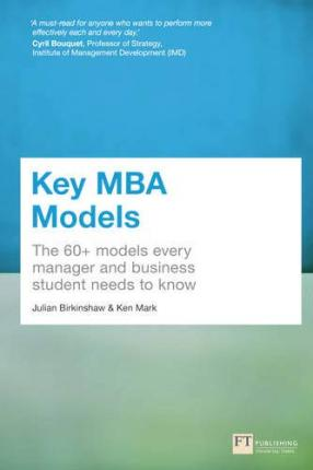 Key MBA Models  The 60+ Models Every Manager and Business Student Needs to Know