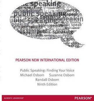 Public Speaking Pearson New International Edition  Finding Your Voice