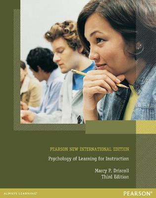 Psychology Of Learning For Instruction Pearson New International