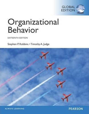 Stephen P Robbins Organizational Behavior Ebook