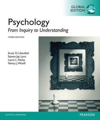 Psychology From Inquiry to Understanding with MyPsychLab, Global Edition
