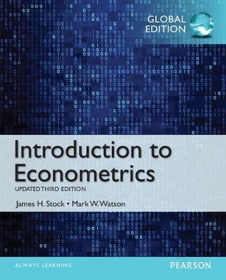NEW MyEconLab with Access Card for Introduction to Econometrics, Update, Global Edition