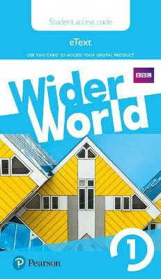 Wider World 1 eBook Students' Access Card