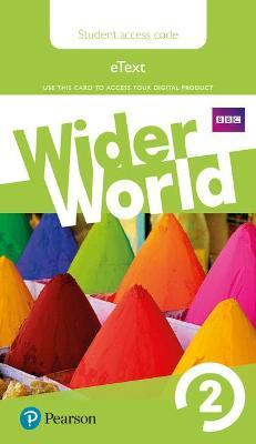 Wider World 2 eBook Students' Access Card