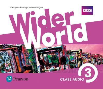 Wider World 3 Class Audio CDs