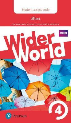 Wider World 4 eBook Students' Access Card