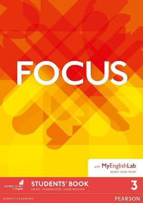 Focus BrE 3 Student's Book & MyEnglishLab Pack