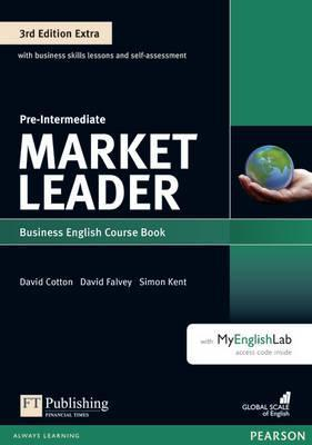 Market Leader 3rd Edition Extra Pre-Intermediate Coursebook for DVD-ROM Pack