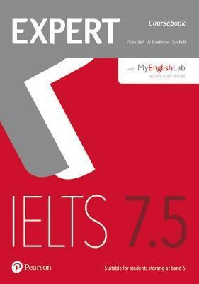 Expert IELTS 7.5 MyEnglishLab PIN Code for Pack