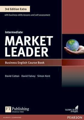 Market Leader 3rd Edition Extra Intermediate Coursebook with DVD-ROM Pack