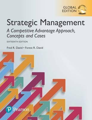 Access Card -- MyManagementLab with Pearson eText for Strategic Management A Competitive Advantage Approach, Concepts and Cases, Global Edition