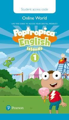 Poptropica English Islands Level 1 Pupil's Online Game Access Card for Pack