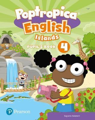 Poptropica English Islands Level 4 Pupil's Book and Online Game Access Card Pack