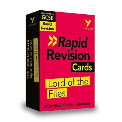 York Notes for AQA GCSE (9-1) Rapid Revision Cards Lord of the Flies