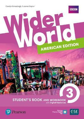 Wider World American Edition 3 Student Book & Workbook with PEP Pack