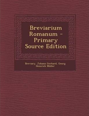Breviarium Romanum - Primary Source Edition