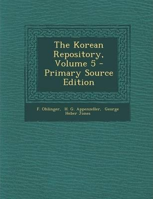 The Korean Repository, Volume 5