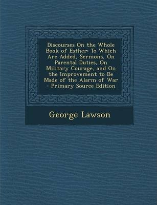 Discourses on the Book of Esther