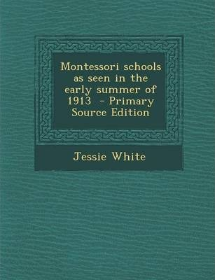 Montessori Schools as Seen in the Early Summer of 1913