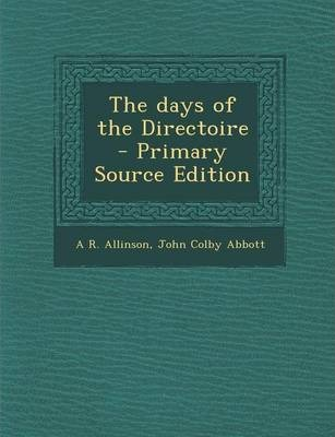 The Days of the Directoire