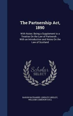 THE PARTNERSHIP ACT 1890 PDF DOWNLOAD
