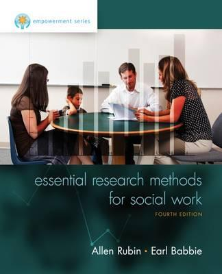 Empowerment Series Essential Research Methods For Social
