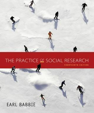 The Practice Of Social Research Earl Babbie 9781305104945