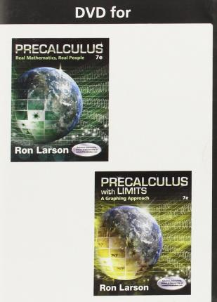 Text Specific DVD: Precalculus: Real Mathematics, Real