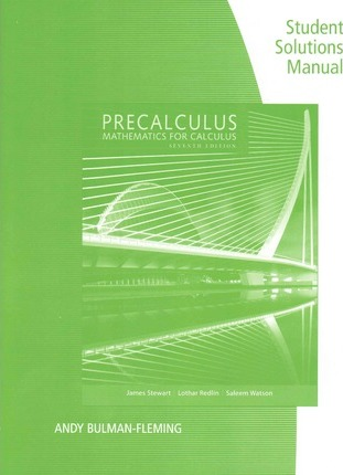 Stewart Calculus 7th Edition Solutions Manual Pdf