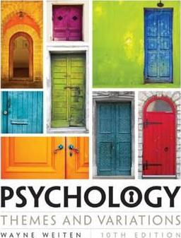 Psychology - Wayne Weiten