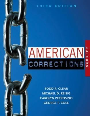 american corrections chapter 3 Arrest records for possession of narcotics by race and year are shown in table 33 in 1993 and 1997, 7,282 people were arrested in marion county for narcotics possession of those, 4,849, or 666 percent, were african american.