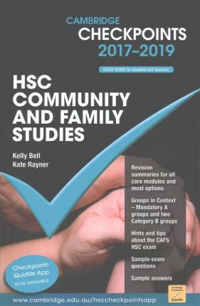Cambridge Checkpoints: Cambridge Checkpoints HSC Community and Family Studies 2017-19