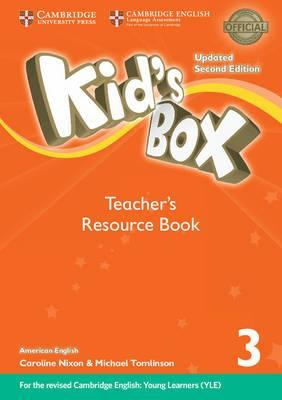 Kid's Box Level 3 Teacher's Resource Book with Online Audio American English