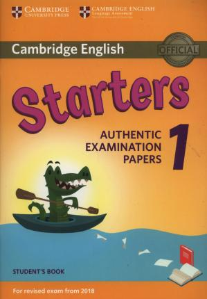Cambridge starters picture book 2018