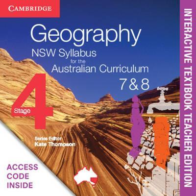 Geography NSW Syllabus for the Australian Curriculum Stage 4