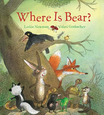 Where Is Bear? (Padded Board Book)