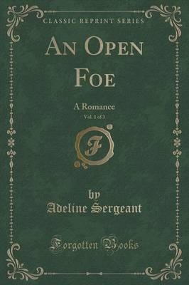 An Open Foe, Vol. 1 of 3 Cover Image