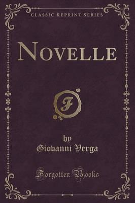 Novelle (Classic Reprint) Cover Image