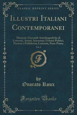 Illustri Italiani Contemporanei, Vol. 1 Cover Image
