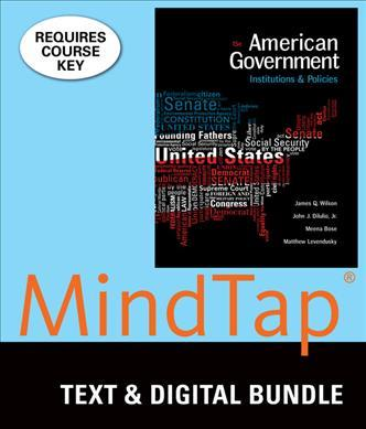 American Government + Lms Integrated for Mindtap Political Science, 6-month Access